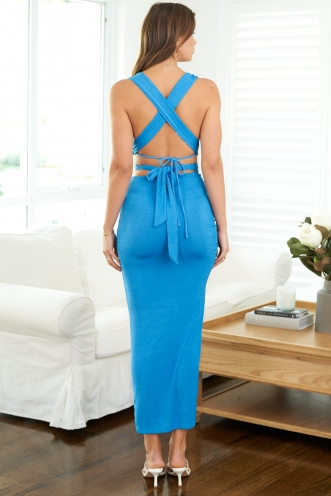 Sweetener Skirt Blue