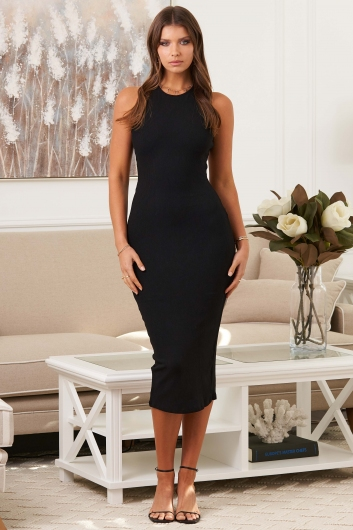 Young Love Dress Black