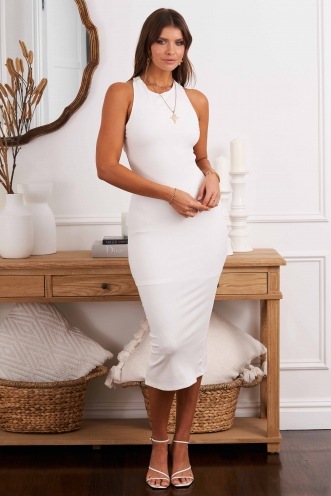 Young Love Dress White