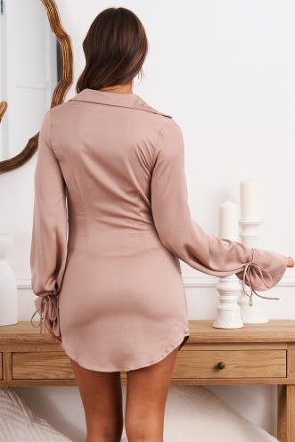 The Only One Dress Beige