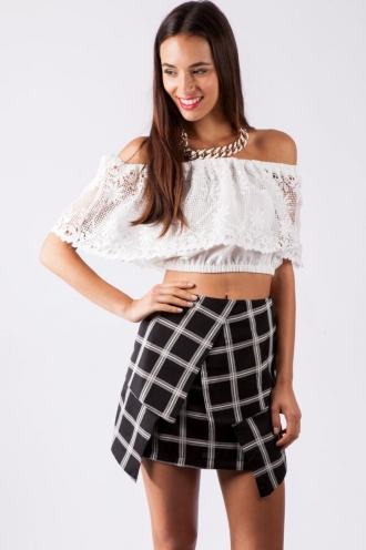 Ginger Biscuit Skirt- Black