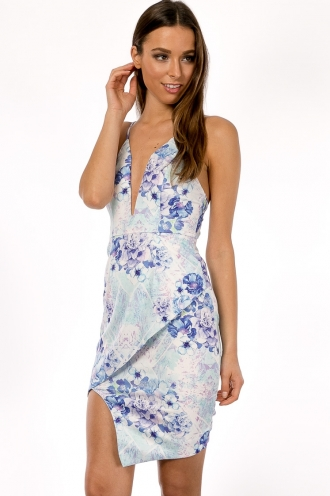 Blueberry Hazelnut Cheesecake Dress- Lilac SALE
