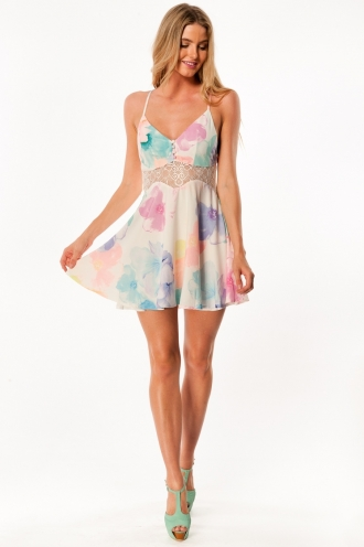 Kinder surprise dress - Mix print
