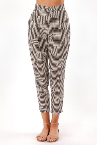 Cookie Tart Pants- Black/White