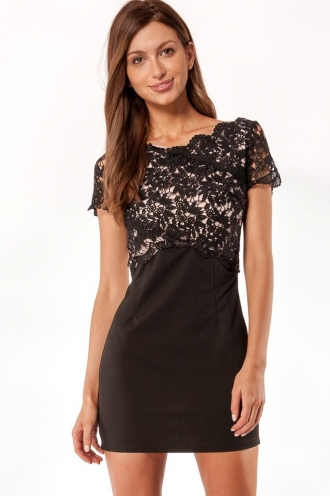 Mango Tango Crush Womens Dress-Black-SALE