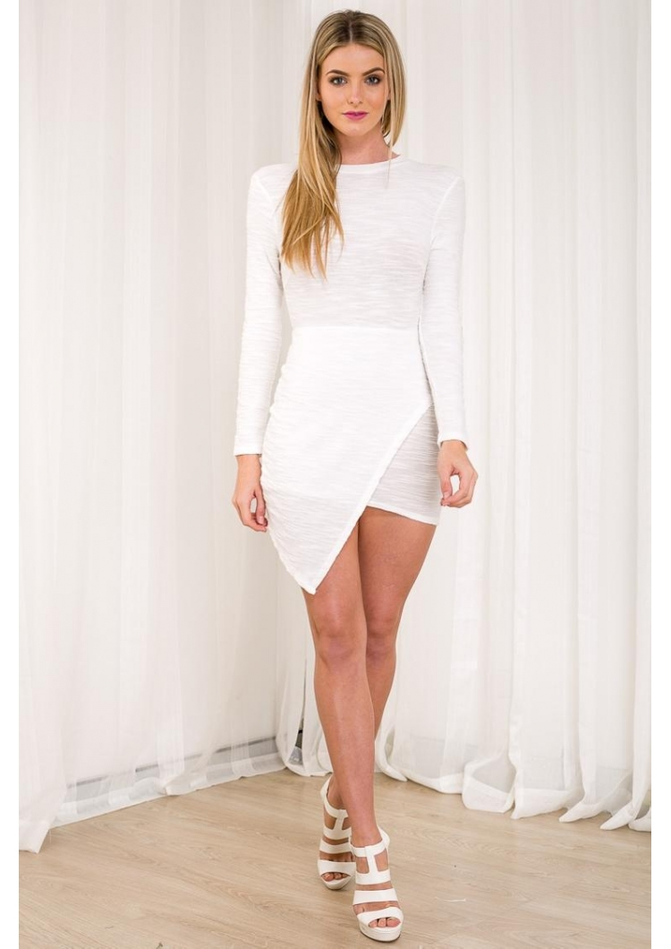 Long sleeve white dress australia