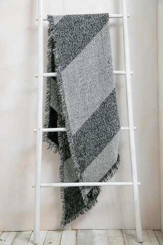 Teacake Womens Scarf - Mix Charcoal
