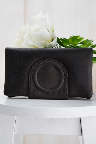 STATUS ANXIETY EVELYN WALLET- BLACK