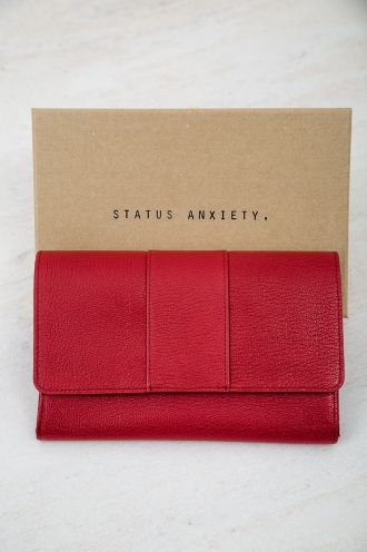 STATUS ANXIETY IDA WALLET- RED
