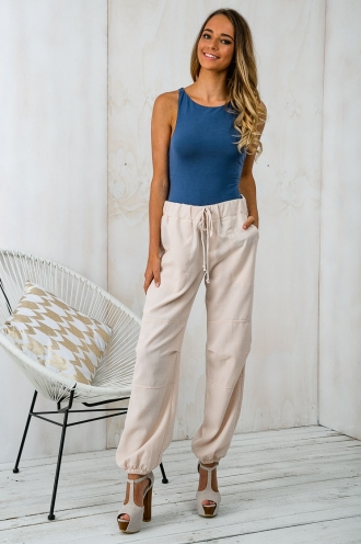 Savanna relaxed pants - Beige